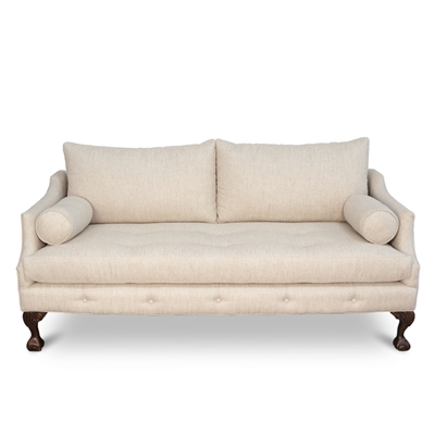 Aviator Linen Sofa