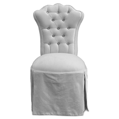 Allison Velvet Vanity Chair