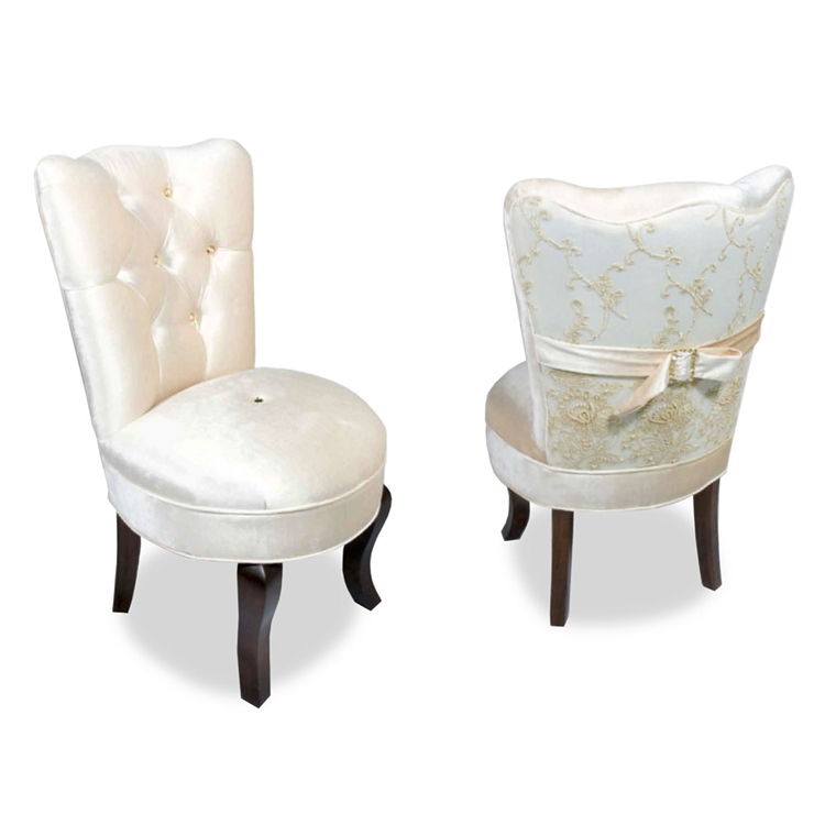 Vanity Chair With Arms Zef Jam
