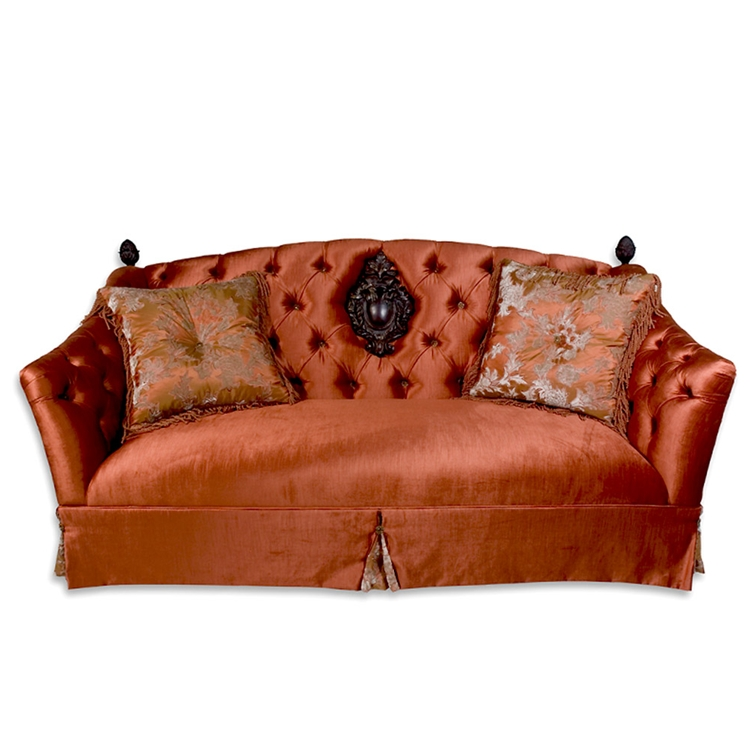 Tuscan Tufted Sofa