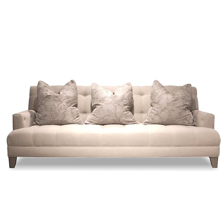 Portland Modern Linen Sofa