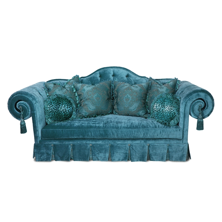 Grand Theodore Scroll Sofa