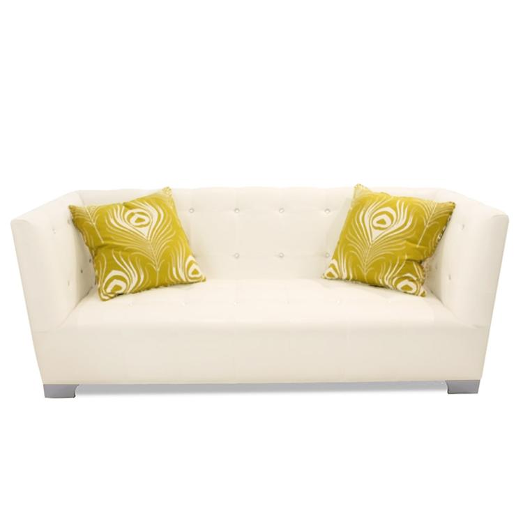 Westside Modern Vinyl Sofa