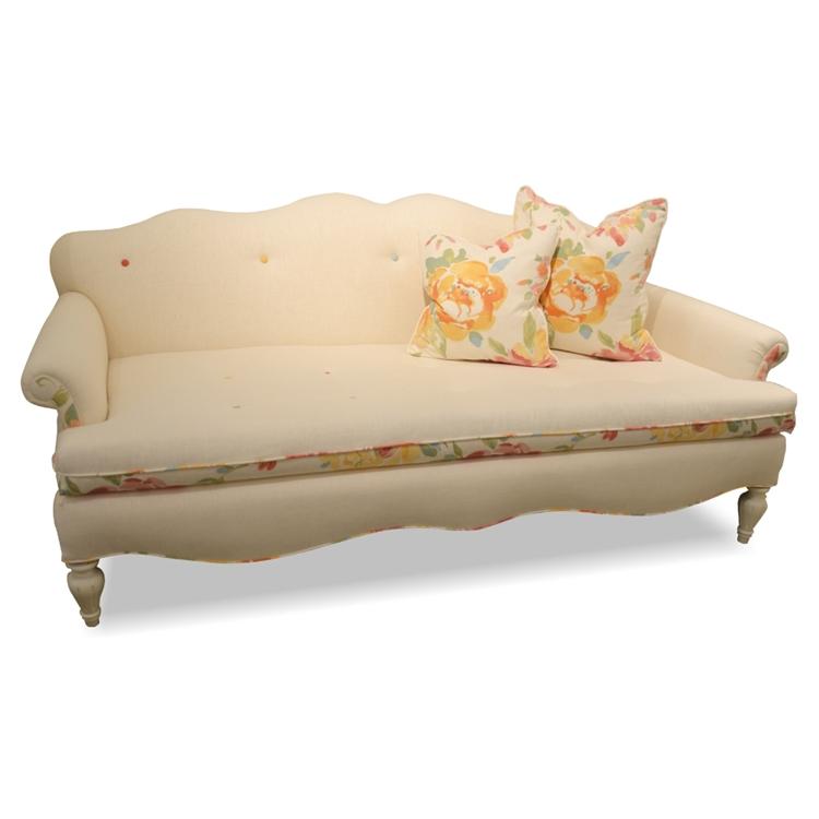Seaside Linen Cottage Sofa