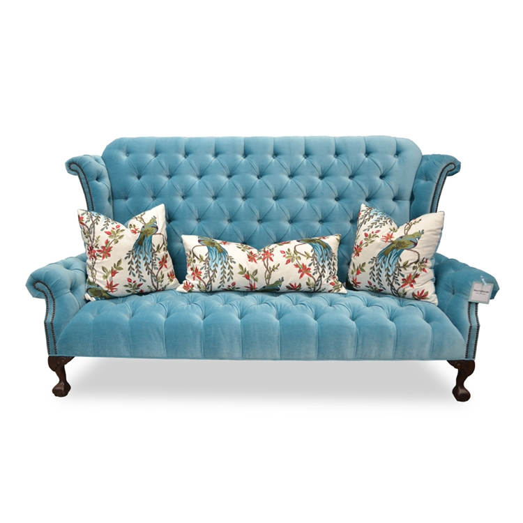 Carter Sofa Tufted Wingback Www