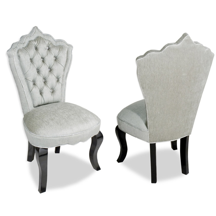 Isabella Velvet Vanity Chair