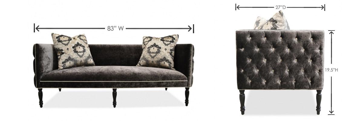 Clack click ottoman futon