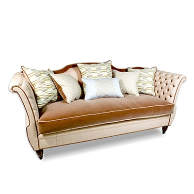 Shield Tufted Sofa