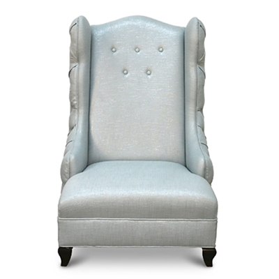 Miley Spa Blue Wing Chair