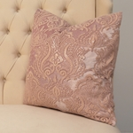 Elise Blush Sheer Pillow