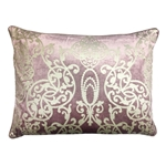 Capilla Metallic Pattern Pillow