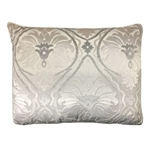 Aurora Velvet Damask Pattern Pillow