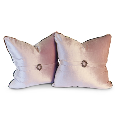 Sweet Pea Blush Pillow Set