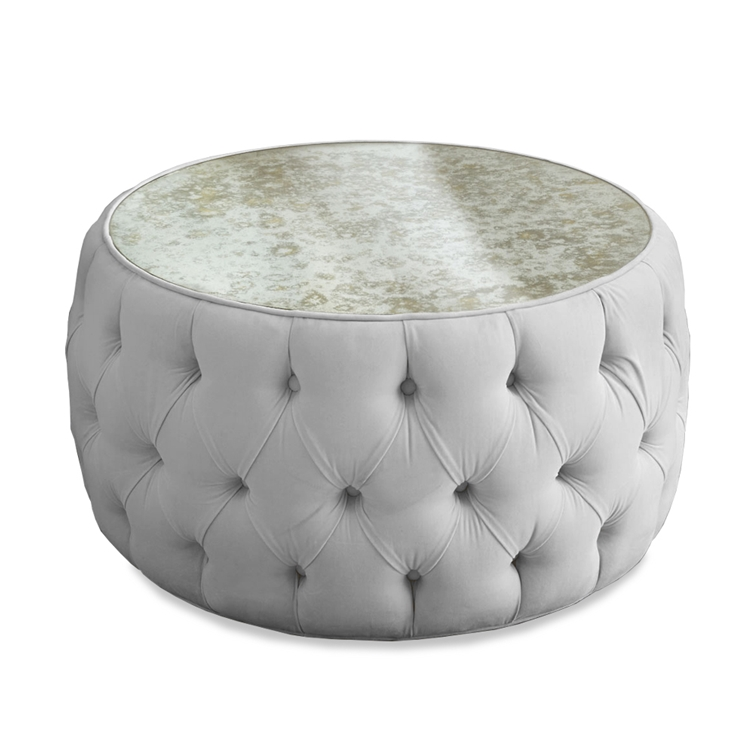 Haute House Home |  Ottomans and Benches | Courtney Ottoman